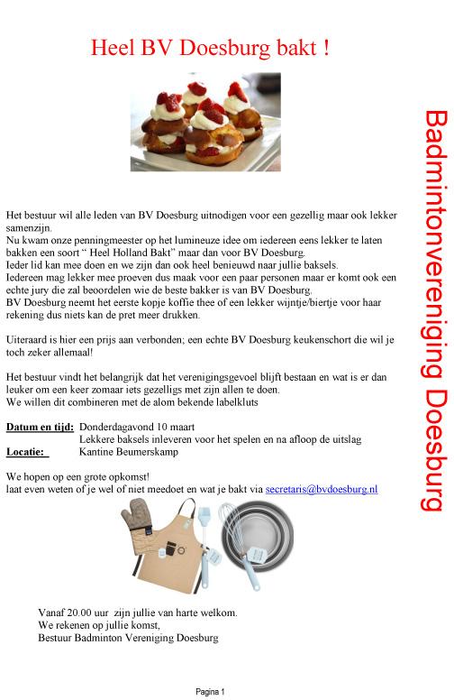 Heel BV Doesburg Bakt (2)